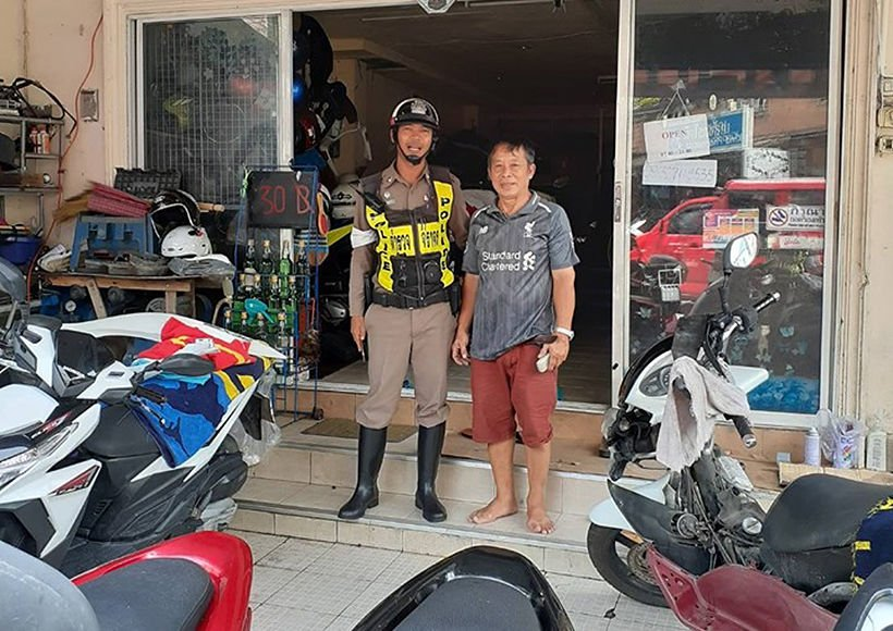 Patong police visit motorbike garages to warn them about illegal modifications   News by Thaiger