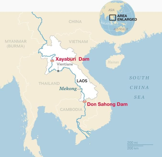 Xayaburi Dam owners say they're not responsible for dry Mekong River | News by Thaiger