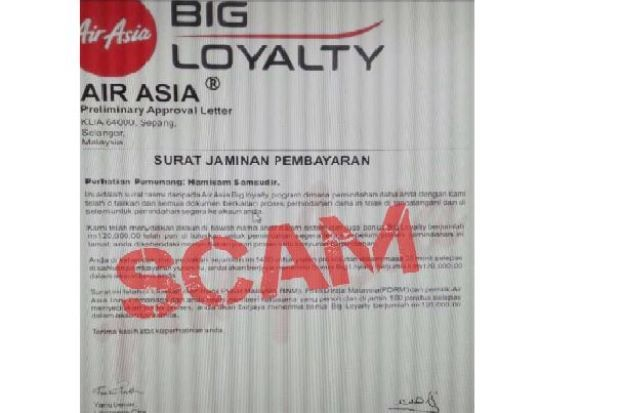 Air Asia loyalty program email scams on the loose again   News by Thaiger