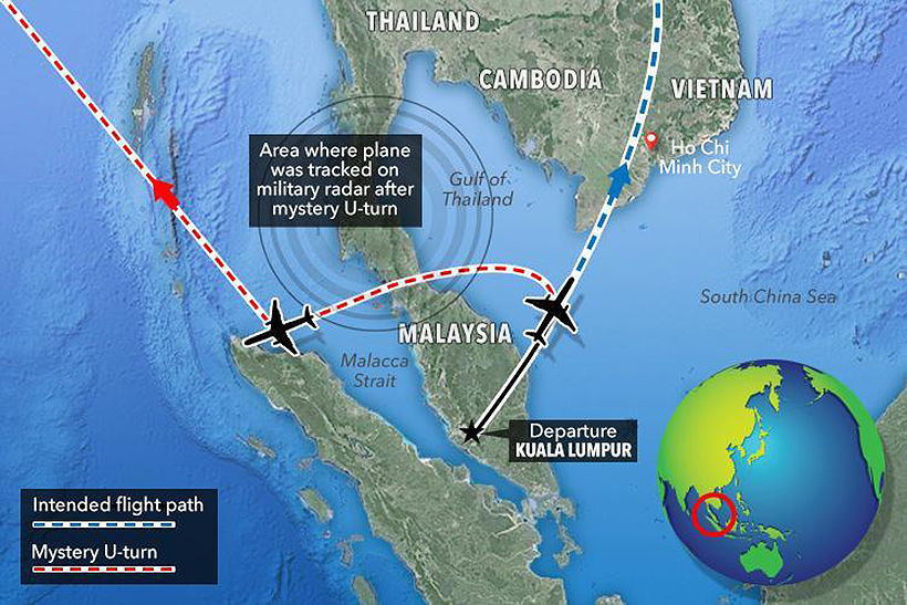 Mystery 90 kilogram load was added to cargo flight list on MH370
