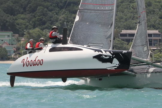 White caps & tight racing - Day two of the Multihull Solutions Regatta in Phuket | News by Thaiger