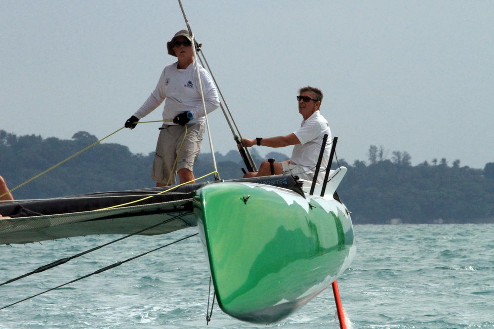 Strong winds greet sailors on Day One of Multihull Solutions Regatta in Phuket   News by Thaiger