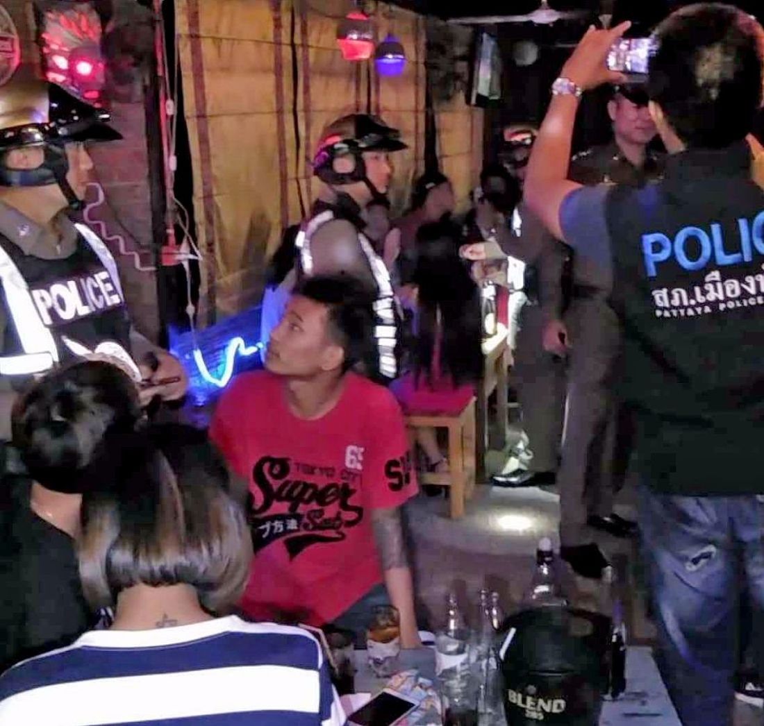 Pattaya police inspect three local bars following resident complaints   News by Thaiger