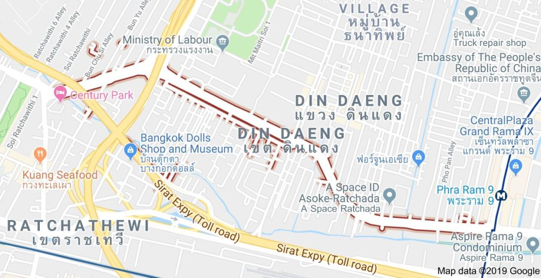 Bangkok's Din Daeng Road area the noisiest in the city | News by Thaiger