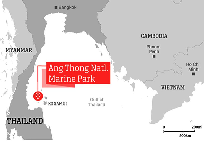 Thailand's Ang Thong National Marine Park, the 'new' Maya Bay | News by Thaiger