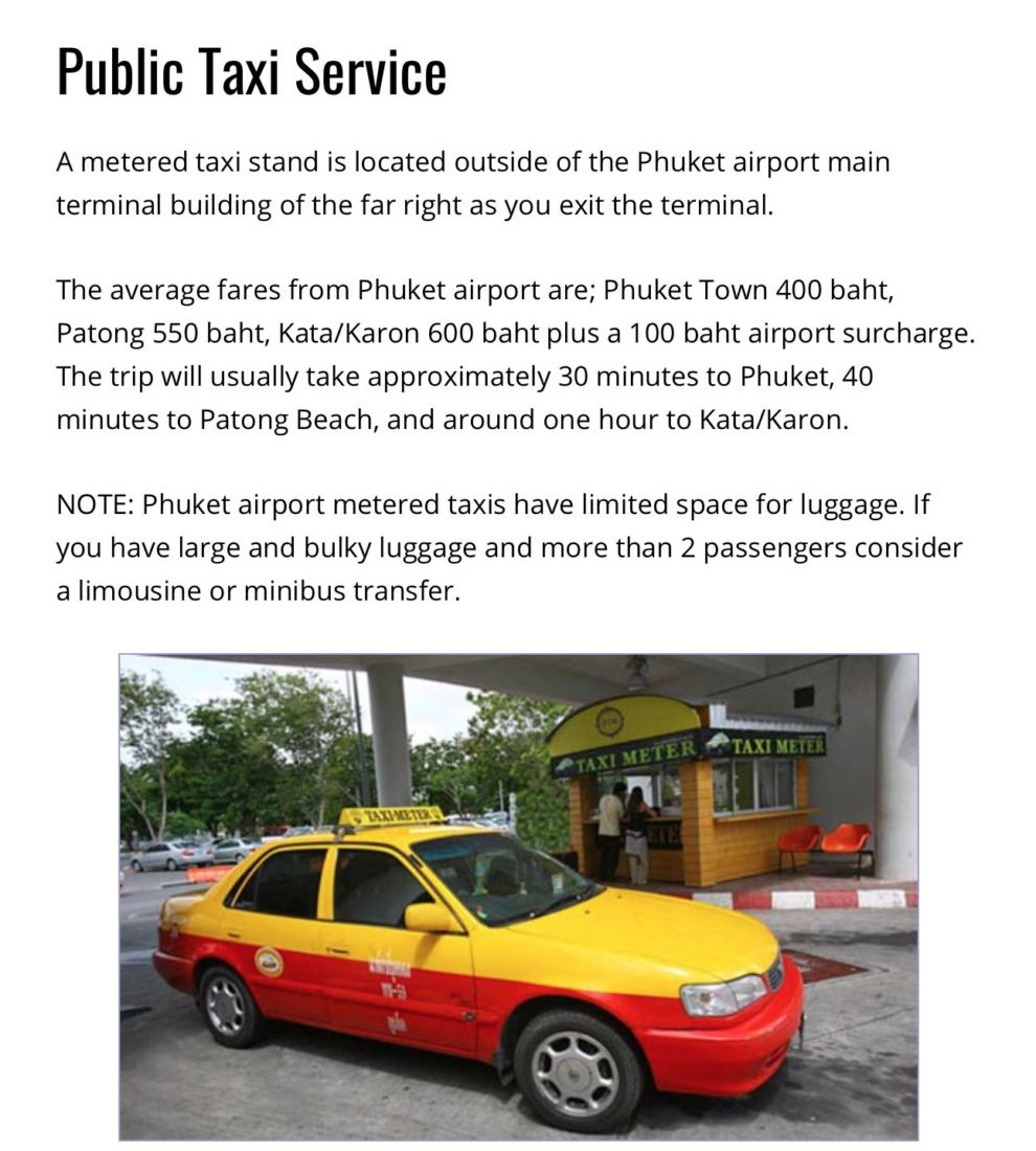 Australian pair's 'misunderstanding' puts Phuket Airport taxis and van services in spotlight   News by Thaiger