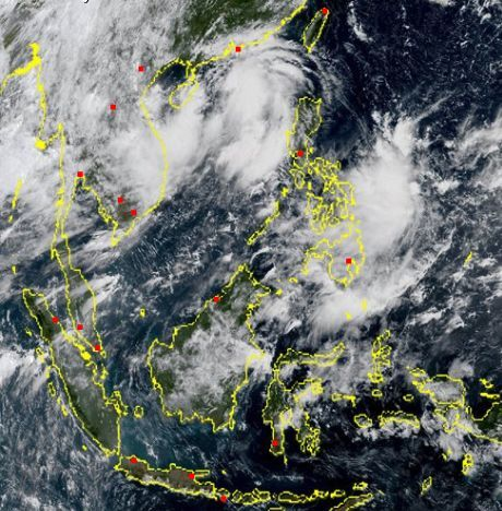 Stormy weather for the Thai north and northeast later this week | News by Thaiger