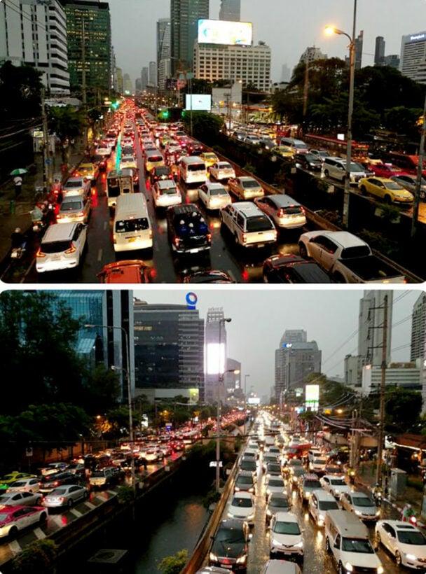 Bangkok gets a peak hour battering   News by Thaiger