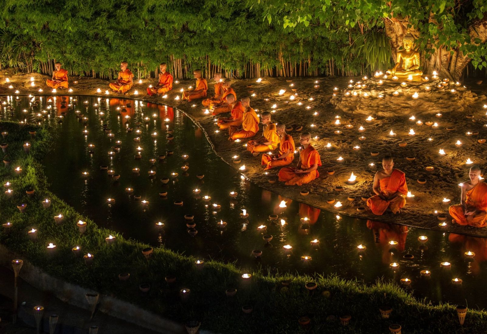Today is Asanha Bucha Day - Why is the day special for Thai Buddhists? | News by Thaiger