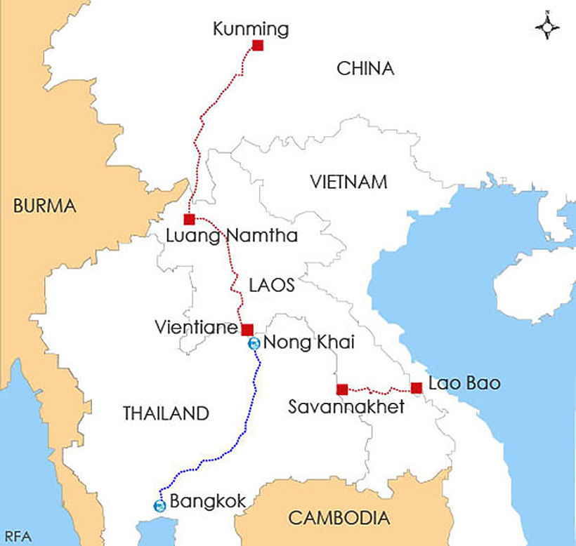 Heading south at speed: The China–Laos railway | News by Thaiger