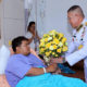Representative of HM King and Queen visits Bangkok bomb blast patients | The Thaiger