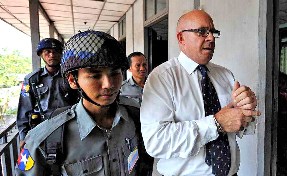 Myanmar court jails Australian publisher for 13 years over drugs charges   News by Thaiger