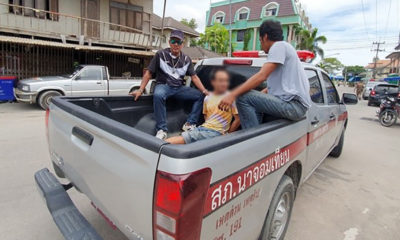 Sattahip drug addict arrested and jailed after threatening wife and children | Thaiger