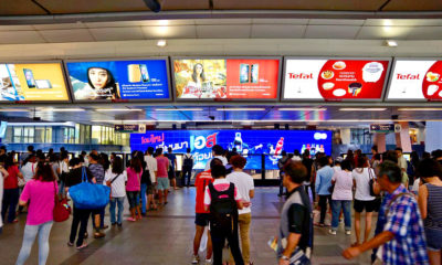 Thai advertisers deserting Print, but love Cinema and Transit ads | Thaiger
