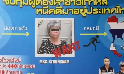 Korean auntie arrested in Chiang Rai and deported over company theft   Thaiger