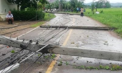 'Podul' batters Phrae as it weakens across northern Thailand | Thaiger