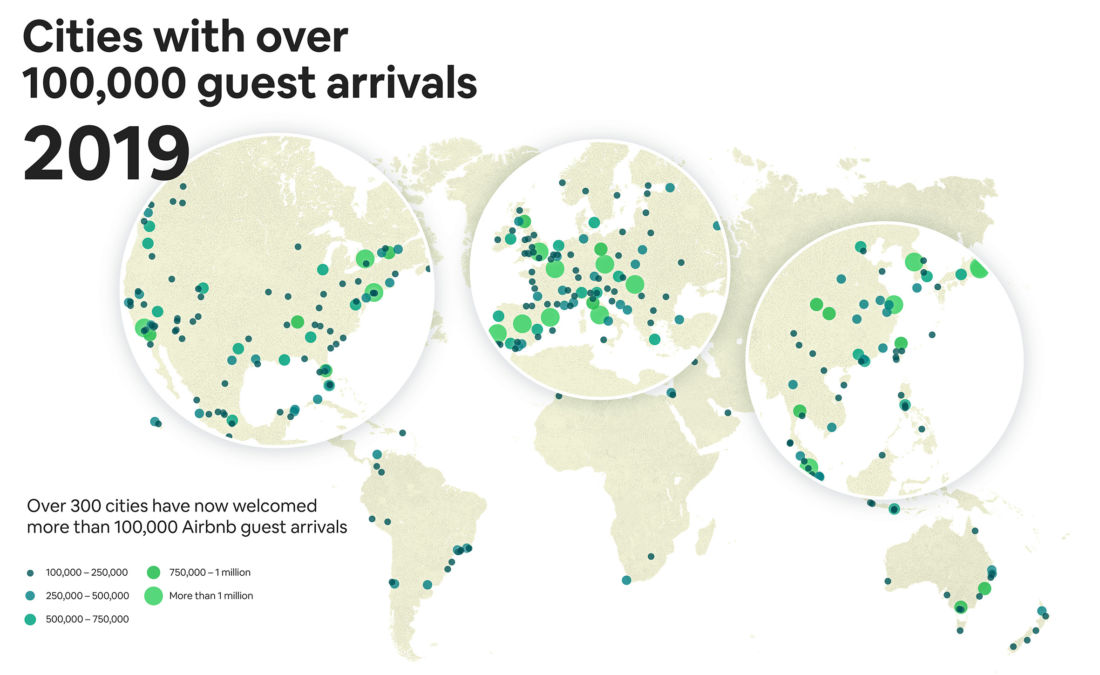 More than four million guests stayed in an Airbnb on August 10, 2019 | News by Thaiger