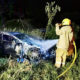 Thai man sets fire to his Mercedes Benz because Daddy won't pay bar tab | Thaiger