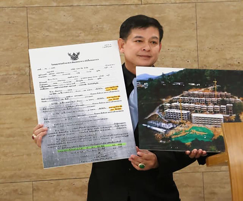 Government MP receives death threats after exposing illegal condo project in Phuket | News by Thaiger