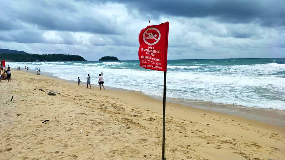 Stormy weather approaching the Andaman provinces | Thaiger