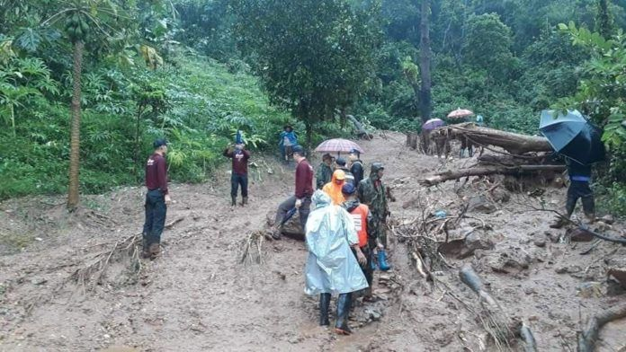 Tropical storm Wipha causes landslides in Tak | News by Thaiger