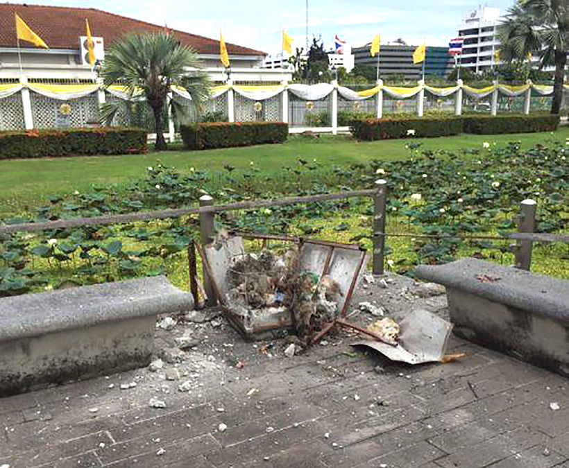 Thai PM condemns the people behind Bangkok's bomb explosions - UPDATE   News by Thaiger