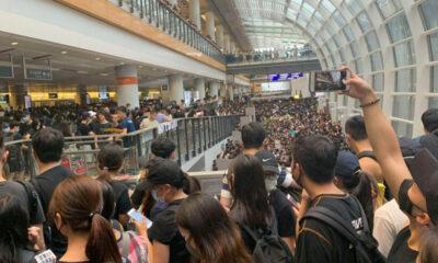 Flights resume at Hong Kong airport as Beijing condemns 'terrorism'   Thaiger