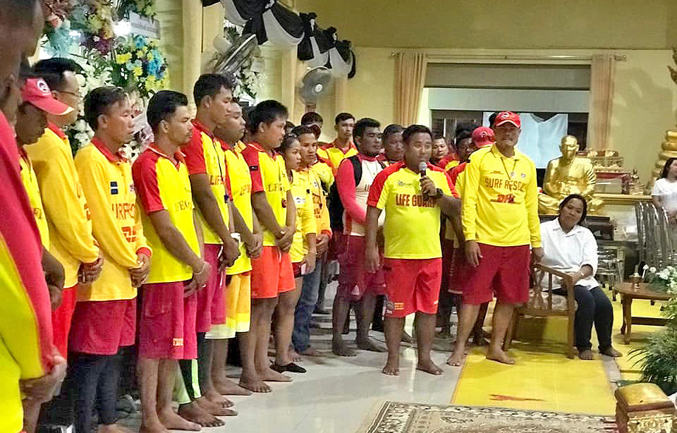 Phuket's lifeguards say goodbye to a champion of local beach safety   News by Thaiger