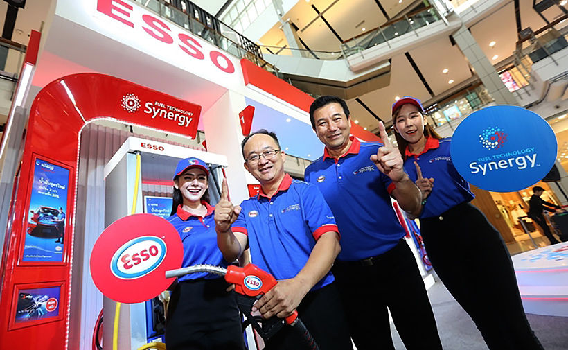 Esso's pumps out cleaner fuels and petrol station makeovers   News by Thaiger