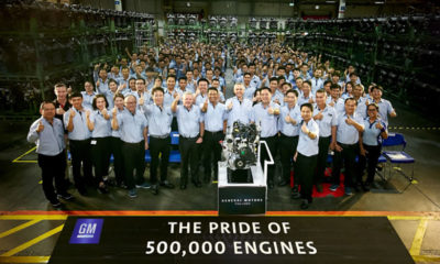 Thai GM's diesel plant in Rayong builds 500,000th engine | Thaiger