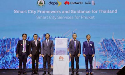 Huawei technology working with the 'smart city' project in Phuket | Thaiger