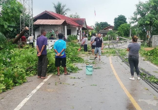 'Podul' batters Phrae as it weakens across northern Thailand | News by Thaiger