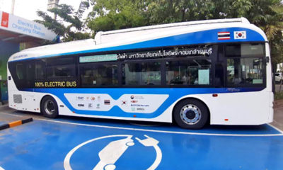 Thailand and South Korea partner on development of electric buses | Thaiger