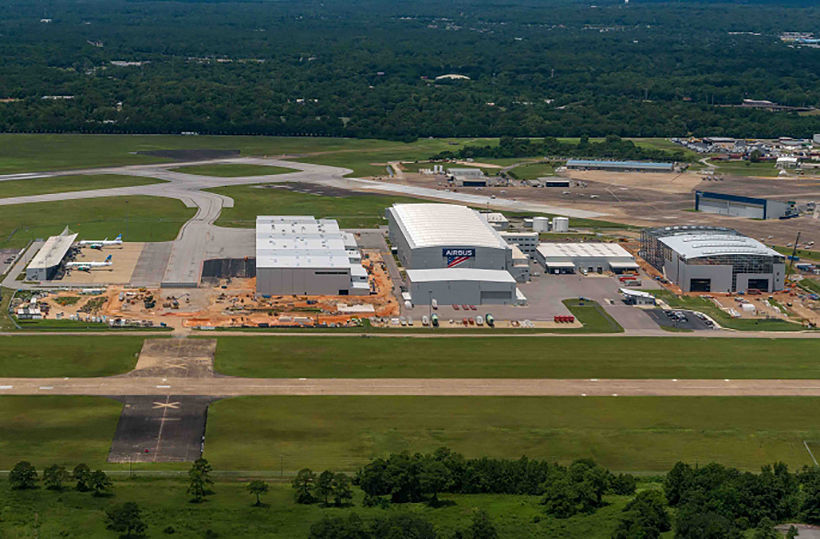 Airbus starts manufacturing new A220 in Alabama, US | News by Thaiger