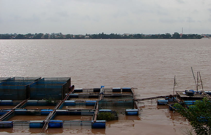 Farmlands flooded in Mukdahan from mountain run-off   Thaiger
