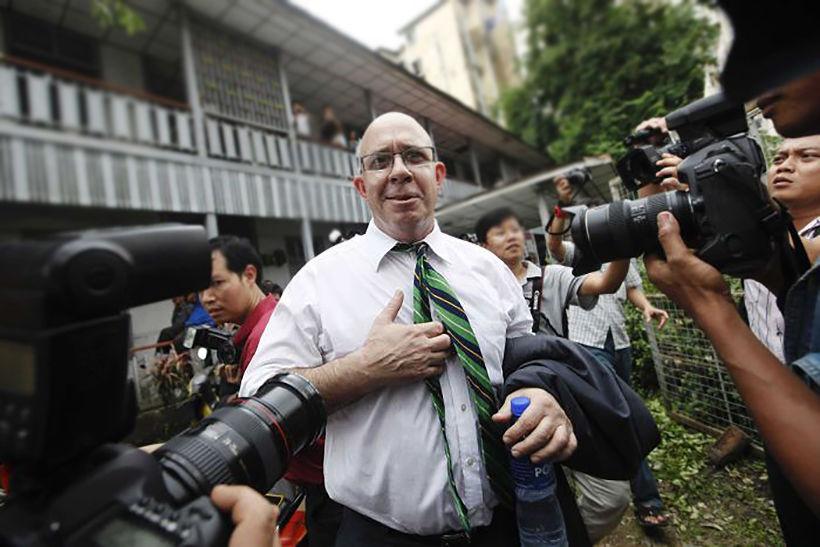 Myanmar court jails Australian publisher for 13 years over drugs