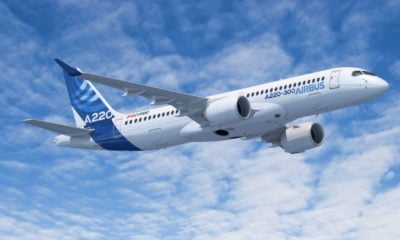 New Airbus A220 drops into Bangkok during Asia Pacific tour | Thaiger