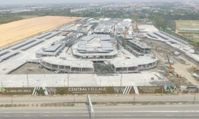 Minister calls for probe on legality of the new Central Village luxury mall at BKK | The Thaiger
