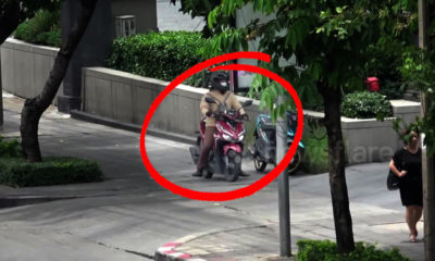 Report motorcycles riding on footpaths today for a 1,000 baht reward | Thaiger