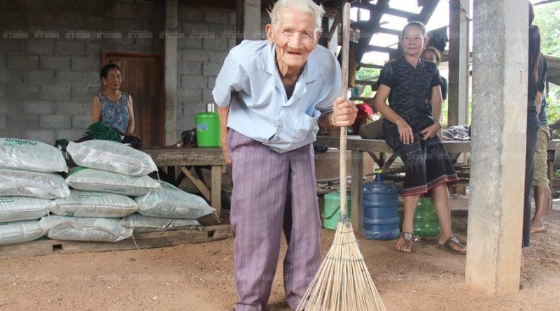 Thai man claims he's 128 years old, reveals his secrets for living | News by Thaiger