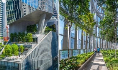 New Robinsons Tower in Singapore reaches for the sky with a green thumb   The Thaiger