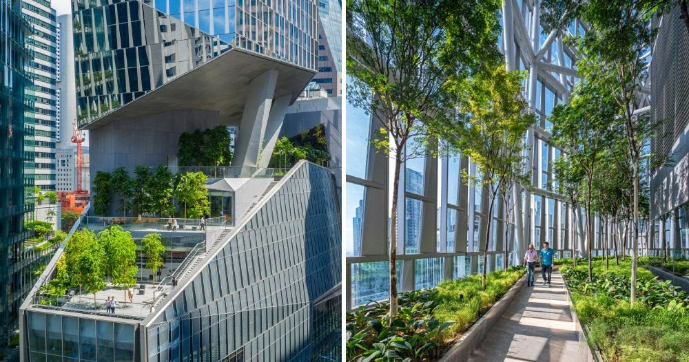 New Robinsons Tower in Singapore reaches for the sky with a green thumb | Thaiger