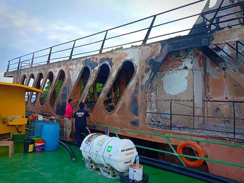 Wreck of the Lady D could be a new recreational diving attraction off Koh Racha Yai, Phuket - PHOTOS | News by Thaiger