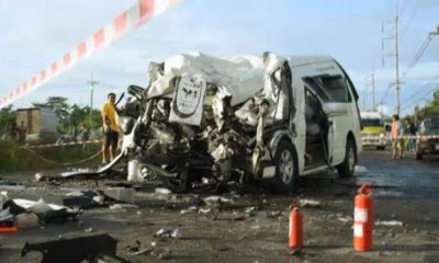 Minister orders investigation into head-on collision in Sa Kaew killing 11 | Thaiger
