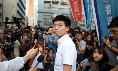 Hong Kong activist Joshua Wong arrested ahead of planned rally | Thaiger