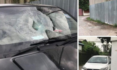 American admits to smashing windshields after being shown CCTV in Chiang Mai   Thaiger