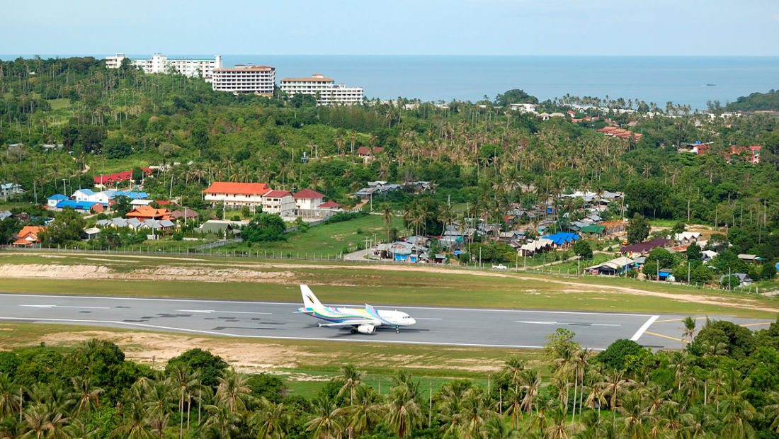 Koh Samui is looking to the skies, an island tethered to an airline | Thaiger
