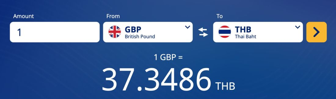 Currency investors factor in no-deal Brexit as pound flounders   News by Thaiger
