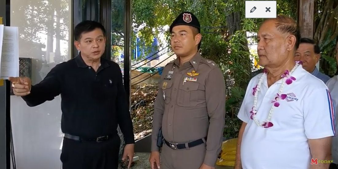Palang Pracharath MP chastises Karon Police for not offering protection during condo visit | Thaiger