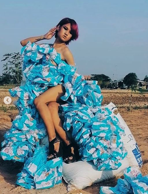 Asia's trash couture - Thailand and China's recycling supermodels | News by Thaiger